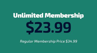 SALE! Unlimited Membership for $24.99 per month.