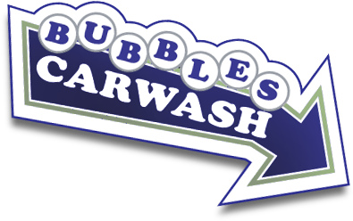 Bubbles Car Wash Auto detailing logo
