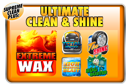 Ultimate Clean and Shine Logo