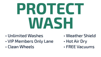 Protect Unlimited Wash