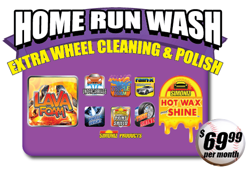 Home Run Wash - $69.99