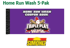 Home Run Wash Book