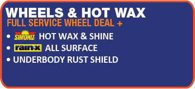 Wheels & Hot Wax Logo