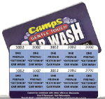 Prepaid Deluxe Wash Card