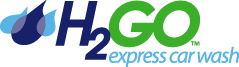 H2Go Express Car Wash Logo