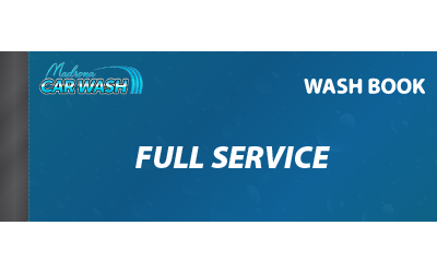 Full Service Wash Book