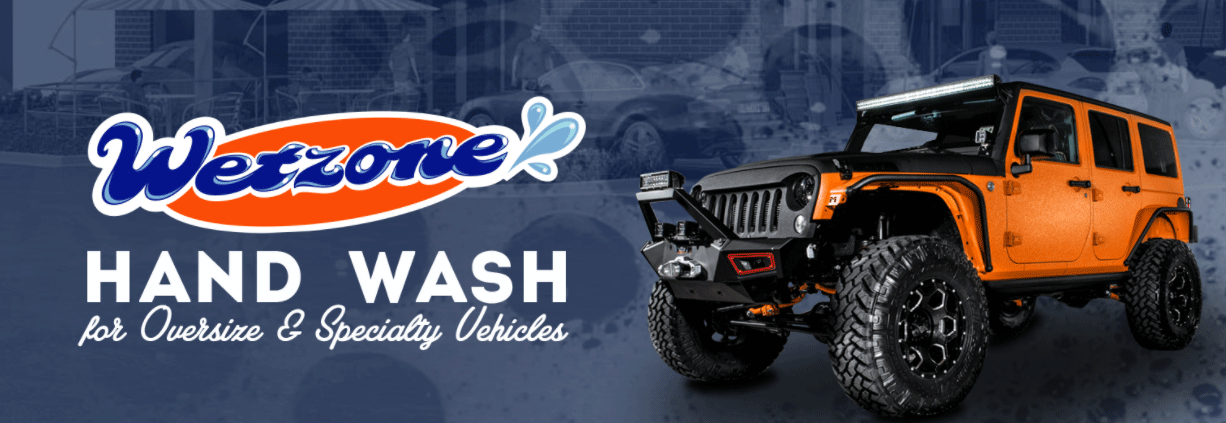 Hand Wash for Oversize and Specialty Vehicles